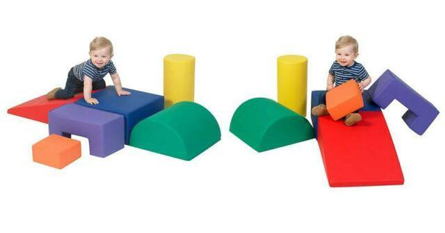 Children's Factory Climb-And-Play 6-Piece Set