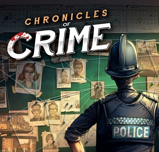 Chronicles of Crime Which Is A Mystery Board Game