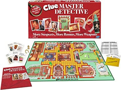 Clue Which Is A Mystery Board Game