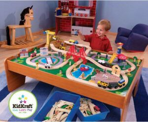 Kidkraft Ride Around Train Set And Table In The Best Toys for Boys 3