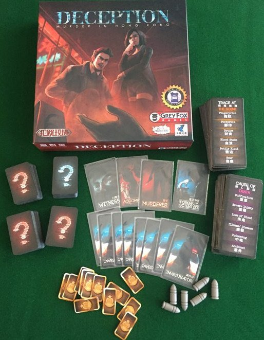 Murder in Hong Kong Which Is A Mystery Board Game