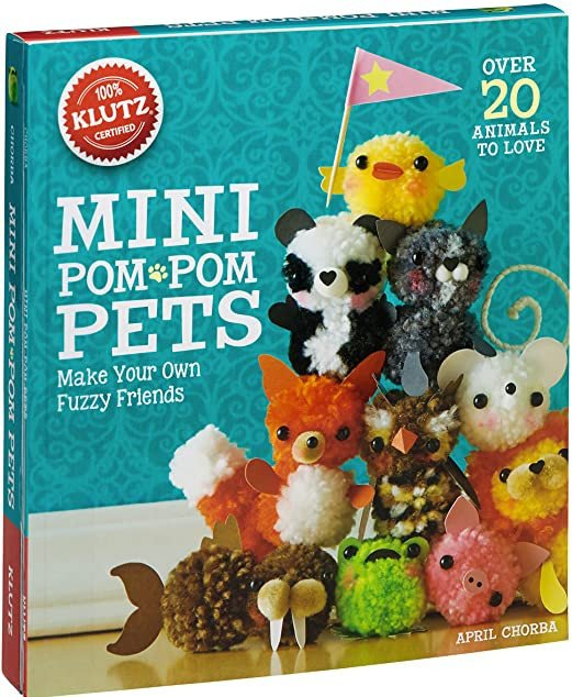 Pom-Pom Projects- Klutz Mini Pom-Pom Set