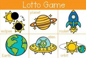 Preschool Lotto Game In The Kids Board Games