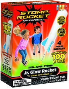 Stomp Rocket Jr Glow In The Best Toys For Boys Age 3