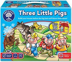 Three Little Piggies In The Best Kids Board Games