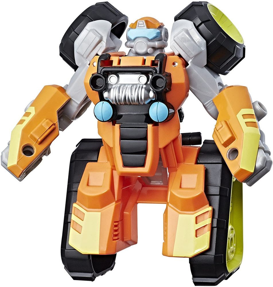 Boulder The Construction Bot By Playskool Heroes Transformers
