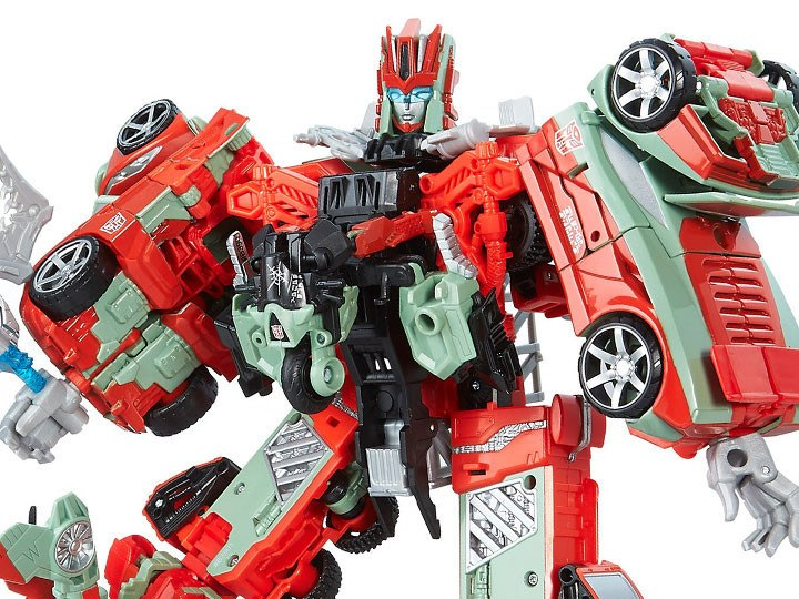 Transformer Toys Combiner Wars Victorian