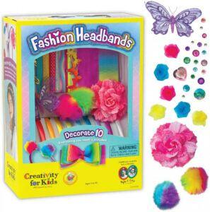Creativity For Kids- Fashion Headbands Craft Kit For Girls