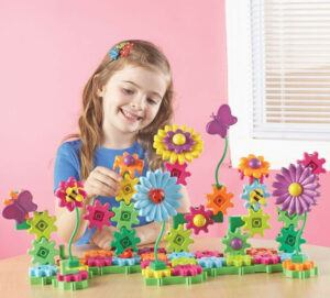 LearningRresources Gear- Build And Bloom Building Set