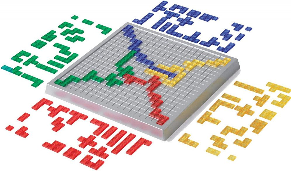Mattel Blokus Game one of the best  Educational Board Games For Kids