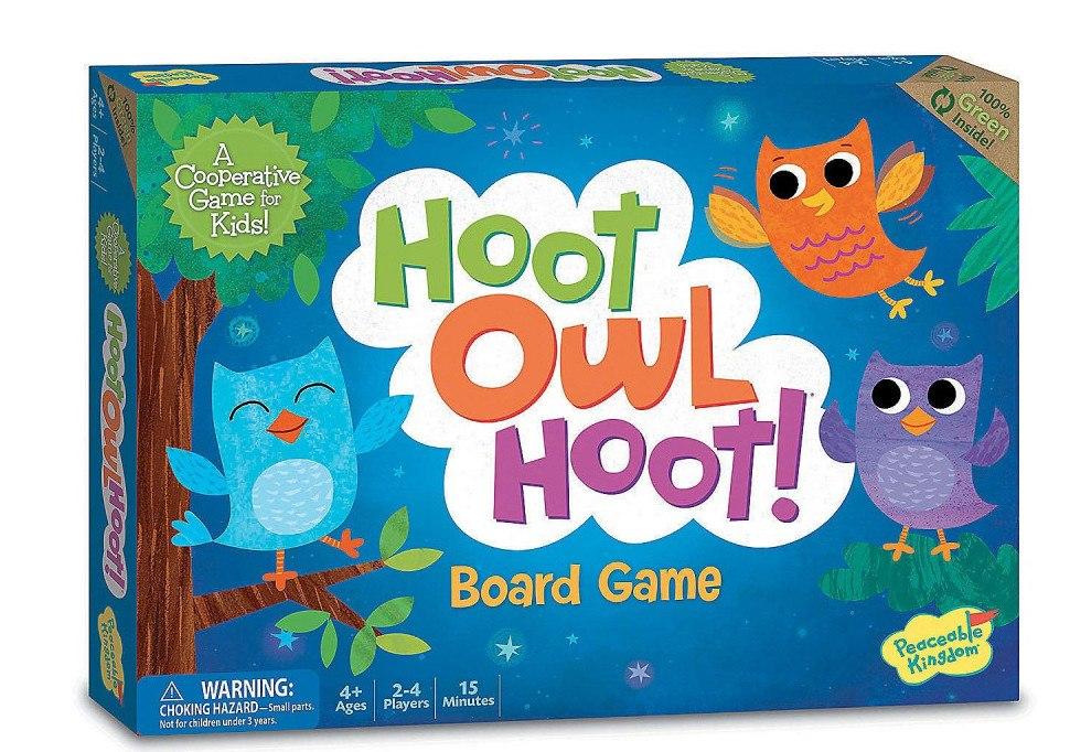 Peaceable Kingdom Hoot Owl Hoot!