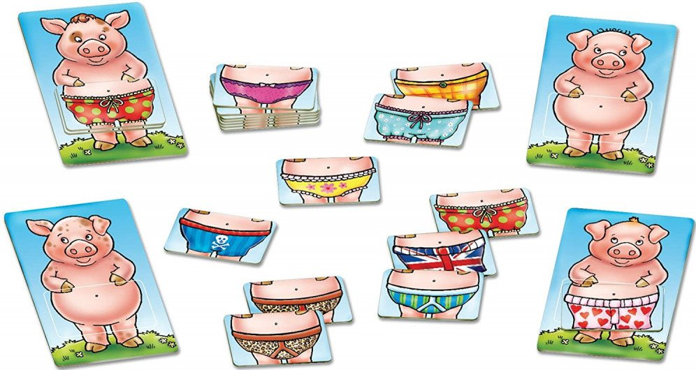 Pigs in Pants Educational Board Games For Kids