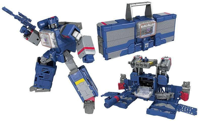 Transformer Toys Titans Return Soundwave