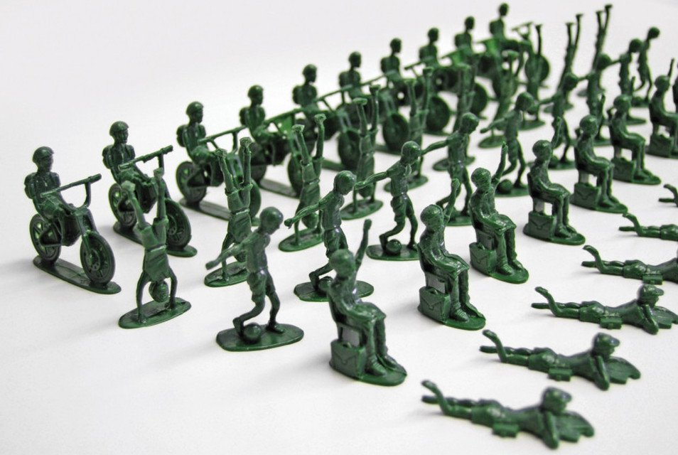classic toy soldiers