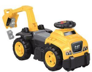 Mega Blocks Ride-On Caterpillar With Excavator