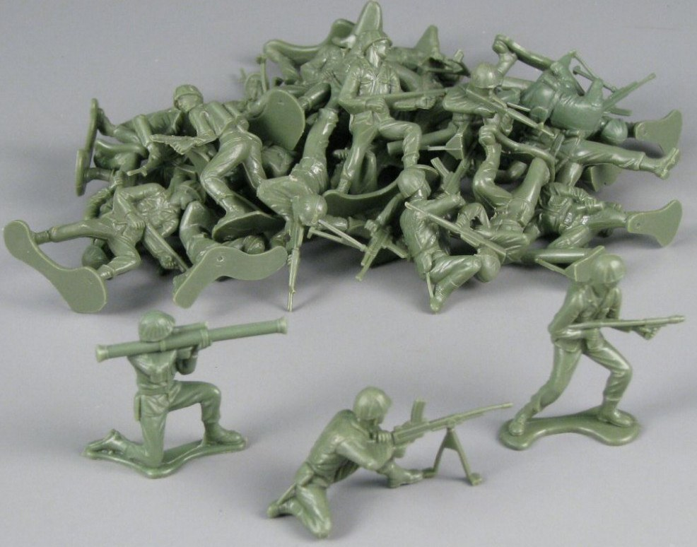 The Era Of Plastic Toy Soldiers