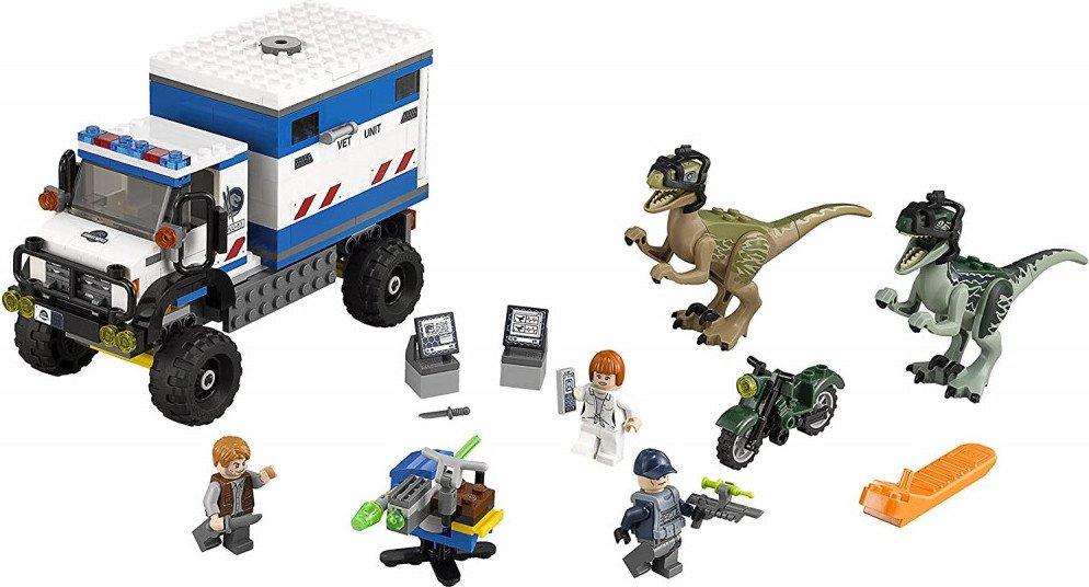 LEGO Jurassic World Raptor Rampage Building kit
