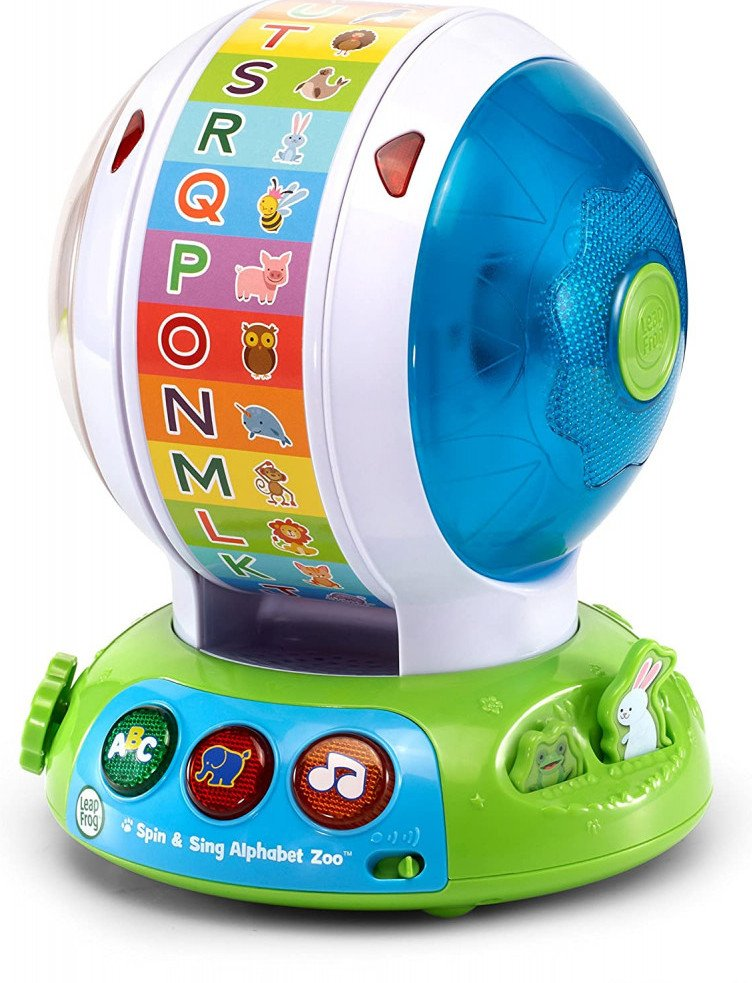 Spin And Sing Alphabet Zoo By Leapfrog toys for kids with cerebral palsy