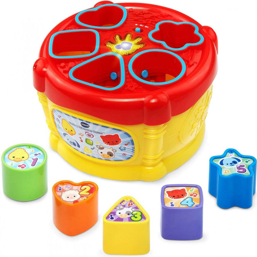 Vtech Sort And Discover Drum Set toys for kids with cerebral palsy